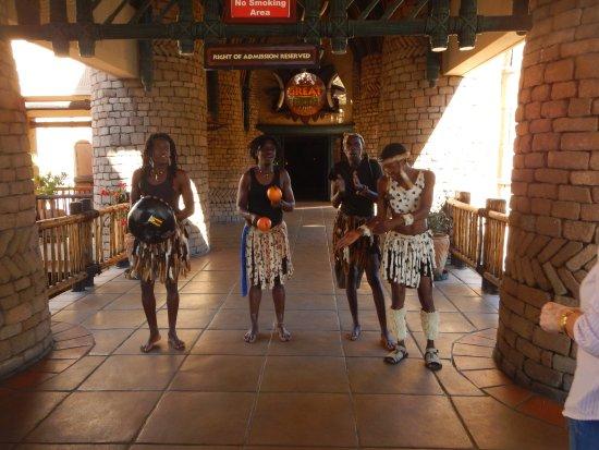 The Kingdom at Victoria Falls: Arrival