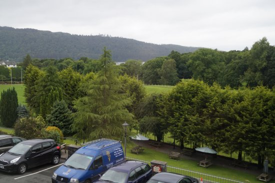Craig Manor Hotel: This was the view of Lake Windermere
