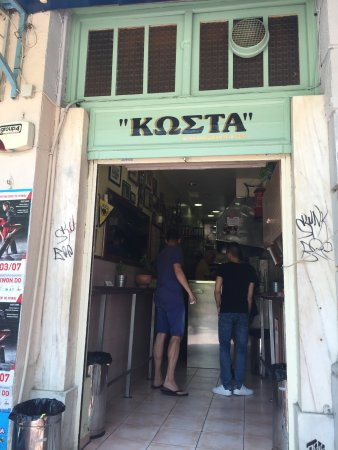 Аттика, Греция: Souvlaki shop