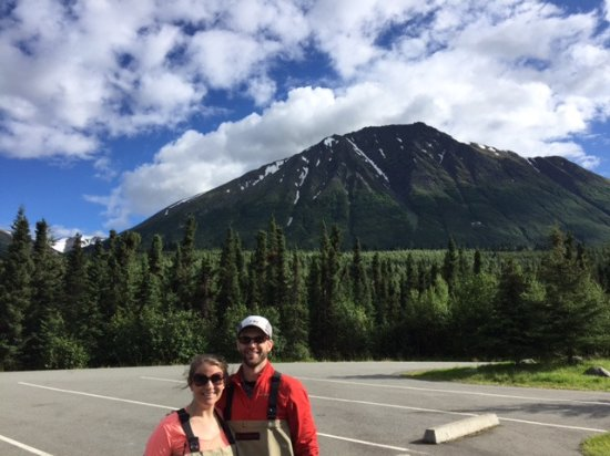 Cooper Landing, Αλάσκα: Beautiful Day by the Kenai