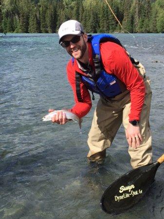 Cooper Landing, Αλάσκα: Having a Great Time