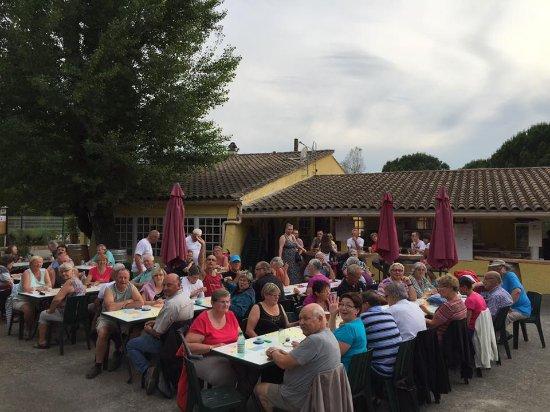 Boisset-et-Gaujac, France : Une soirée lotto
