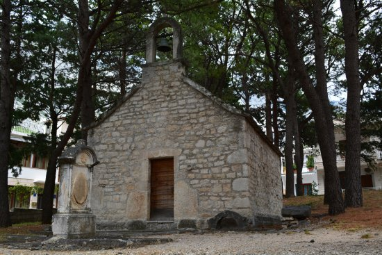 Baska Voda, Croatia: Church of St. Lawrence