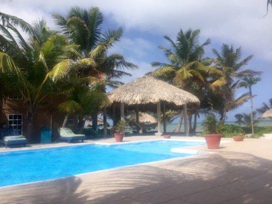 White Sands Cove Resort: Nice pool near the bar overlooking the beach