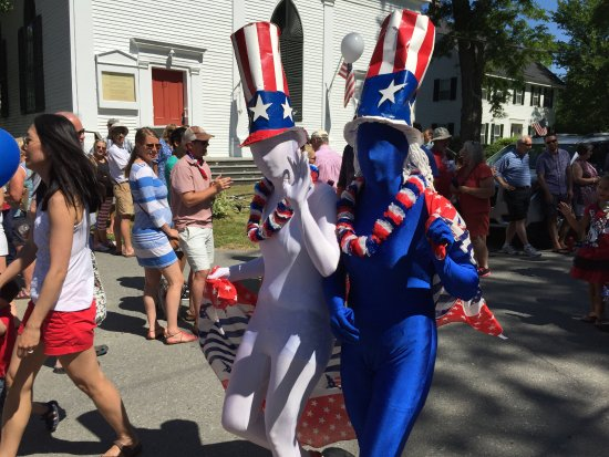 Castine 4th of July children's parade