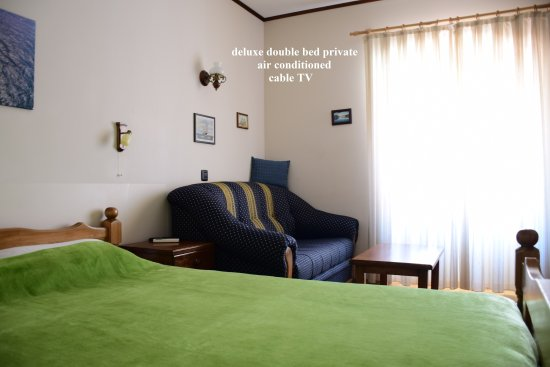 Kolega Guesthouse: deluxe double bed private, air conditioned, cable TV