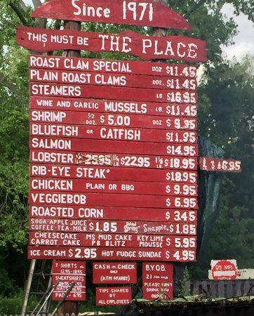 Guilford, CT : The menu