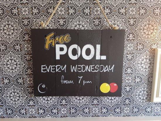 Rochford, UK: Free Pool!