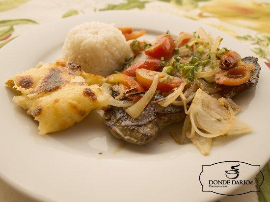Hígado Encebollado: fotografía de Donde Dario Restaurante Bar S.A.S ...