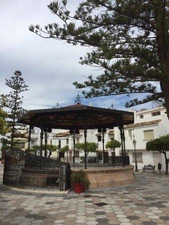 Plaza del Reloj: Веранда