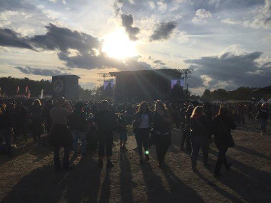Sölvesborg, Suède : Festival area