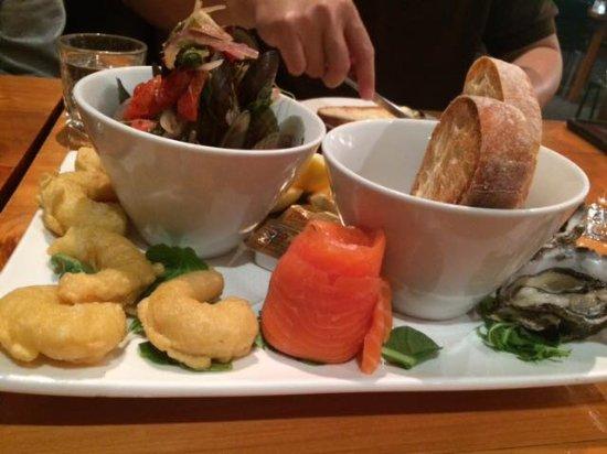 New Plymouth, Nya Zeeland: Seafood Platter