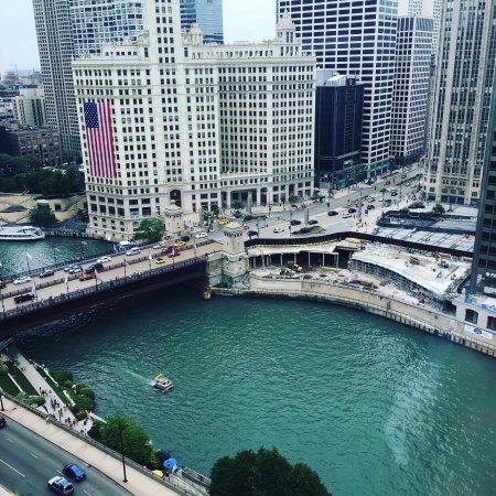 Hyatt Regency Chicago: River View on the 15th floor