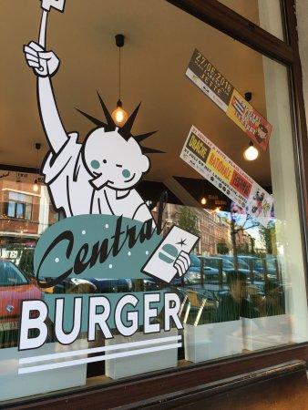 Jette, Bélgica: Envie d'un bon burger ?