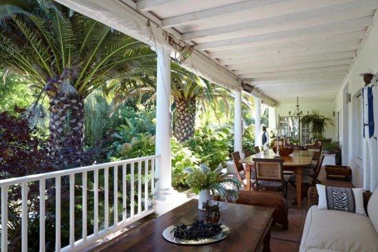 Villa Coloniale: Veranda