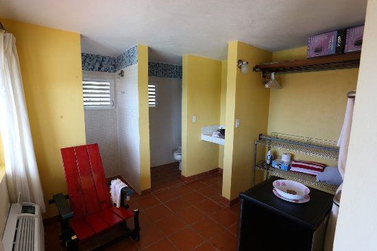 Vieques Villa Gallega A-16-N: Pool Side Studio apartment