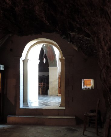 Flowers of Crete: Wonderful ancient cave church