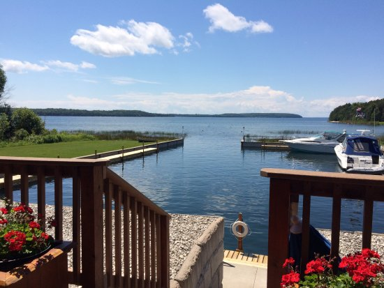 Garden, MI: Great day at the Dock Grill