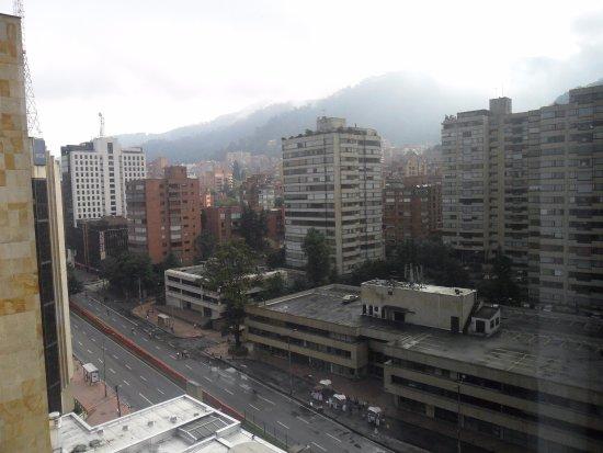 Hilton Bogota: desde la habitacion
