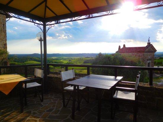 Ronchi di Sant'Egidio : piccola terrazze esterna (4 tavoli)
