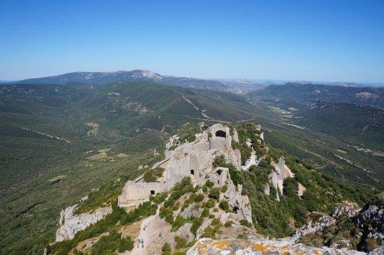 Duilhac-sous-Peyrepertuse, Francia: the view