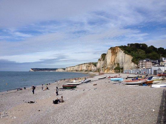 Yport, Prancis: Vue de la plage