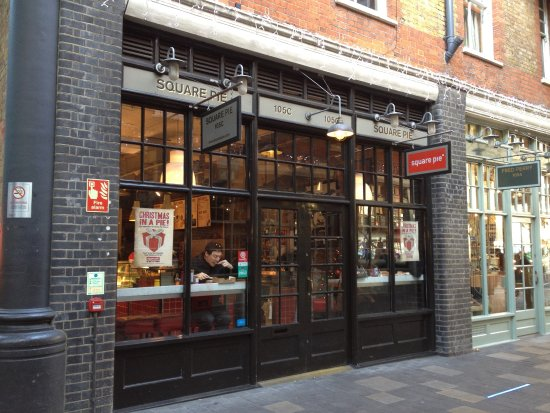Square Pie Company - Spitalfields: Front entrance