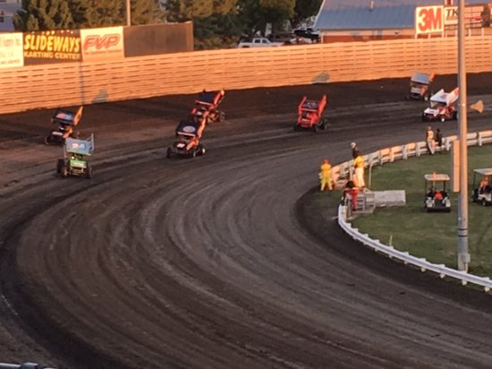 Turn 4 Knoxville Raceway