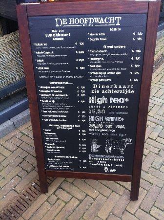 Gorinchem, Ολλανδία: De kaart biedt voldoende keus
