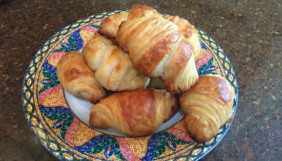 Southold, État de New York : Fresh croissants
