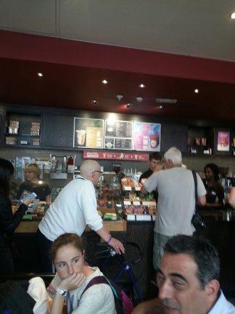 The Gingerbread Cream Latte Picture of Costa Coffee Bath