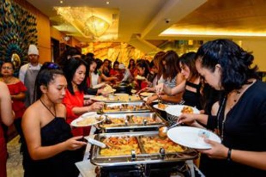 BEST WESTERN Plus Lex Cebu: eating time! food was delicious!