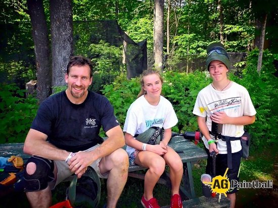 Weare, NH: Paintball is a great family activity