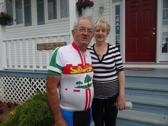 Saint Peters Bay, Canadá: Doug and Elizabeth