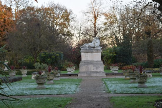 Sunbury Park Walled Garden : A nice brisk walk on a frosty December morning