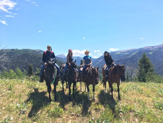 Moose Creek Ranch: Unbelievable beauty!  The guides with DRY RIDGE OUTFITTERS (Shelby, I'm talking about you!) were