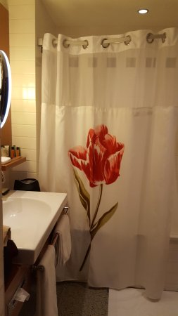 Hilton Amsterdam: Bathroom