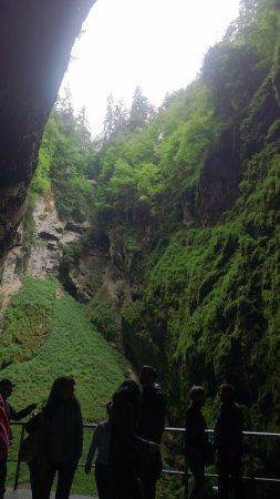 South Moravian Region, Tjekkiet: Priekopa v skale Macocha (neskutočný zážitok!!!)