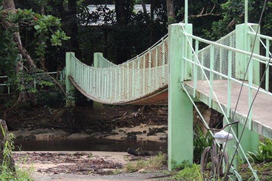 Gandoca - Manzanillo Wildlife Refuge: La entrada al parque