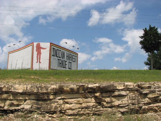 Union, MO: Sign by the Highway