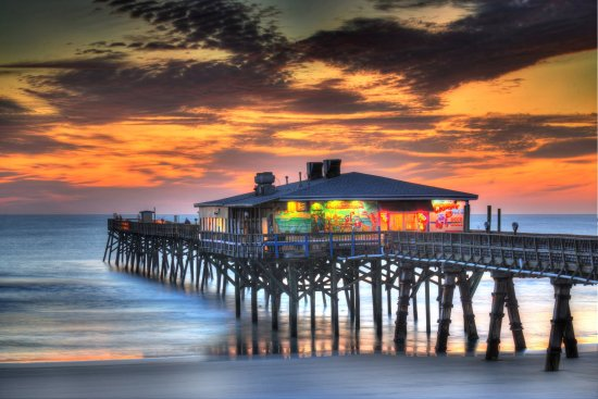 Crabby Joe's sunrise