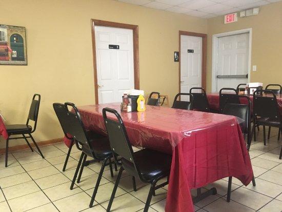 Fairfield, PA: Dining area