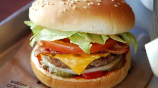Thetford Mines A&W Burger avec fromage