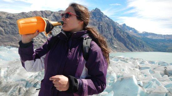 Patagonia Adventures: Toast on a glacier