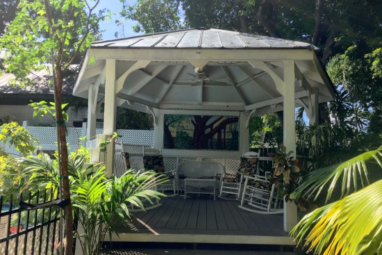 the garden gazebo picture of the duval house key west