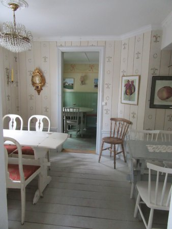 """Trosa, Sverige: Two of the """"small rooms."""" Just gorgeous."""