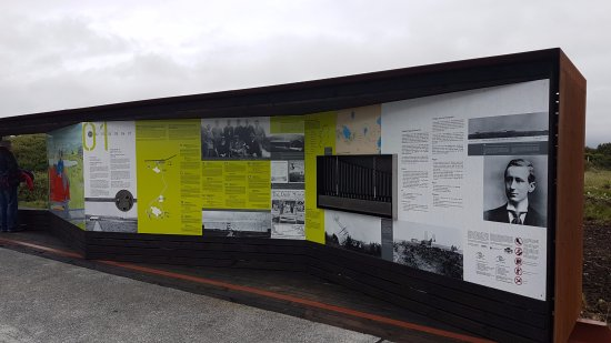 Alcock and Brown Landing Site: Interpretation tells the story of the Marconi Station and the landing