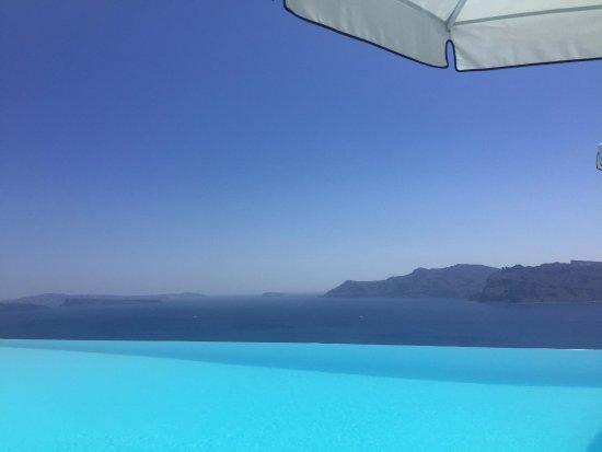 Katikies Hotel: What a view!