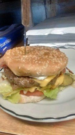 Hollywood, SC: Bacon double cheeseburger