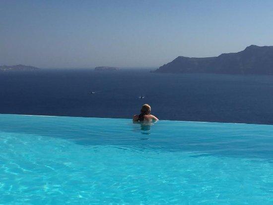 Katikies Hotel: Fantastic view!